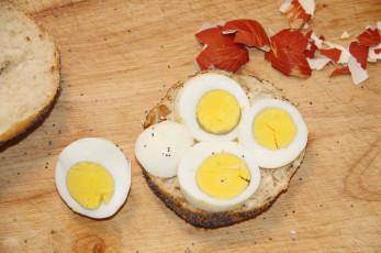 Lecker Eibrötchen