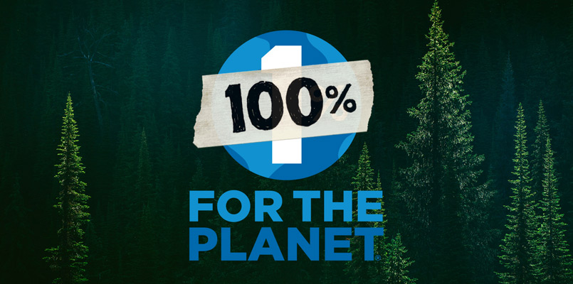 Patagonia 100percent for the planet